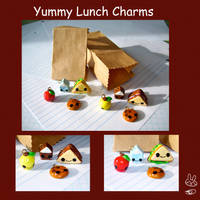 Lunchbox Charms by aruachan