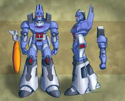 TF: Galvatron by Pinkuh