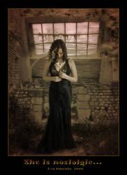 She is nostalgic by Xantipa2-2D3DPhotoM