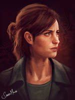 Ellie (The Last of Us 2) by ceriselightning
