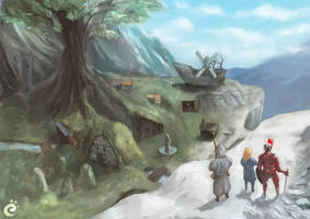 Some fanart stuff - Icewind Dale by AlanBlackwind