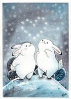 Bunnies by Alliot-art