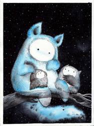 little night spirit by Alliot-art