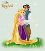 Merry Christmas Tangled by Pridipdiyoren