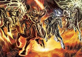 The Four Horsemen by timswit