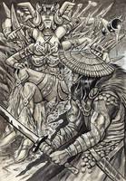 Barbarian Bushido by timswit