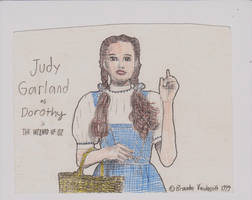 Judy Garland as Dorothy by BrandOz