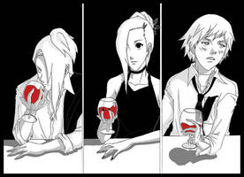 In the bar by redsama