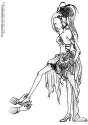 Kiriban prize - Ino-Cinderella by redsama