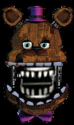 Fredbear by LanceGaming64