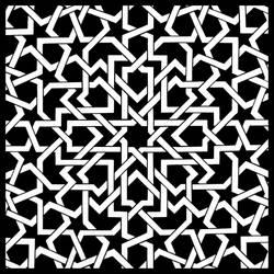 islamic pattern I by sth22art