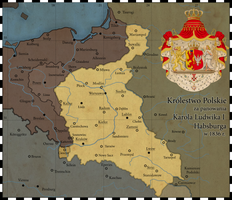 Congress Poland 1836 (ahistorical map) by Czarnobog
