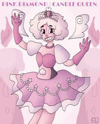 Pink Diamond The Candle Queen by AliRose-Art