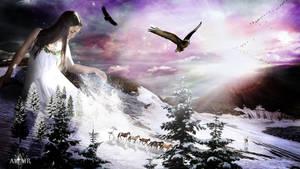 Snow Princess by Altair-E