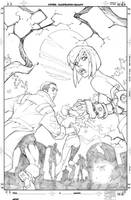 New X-Men cover by RandyGreen