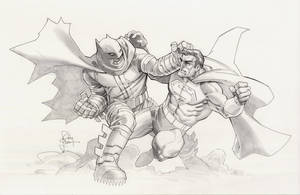 Dark Knight vs Superman by RandyGreen