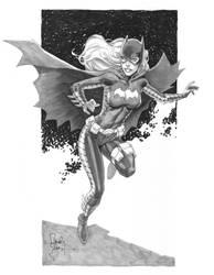 Batgirl marker - Comicon by RandyGreen
