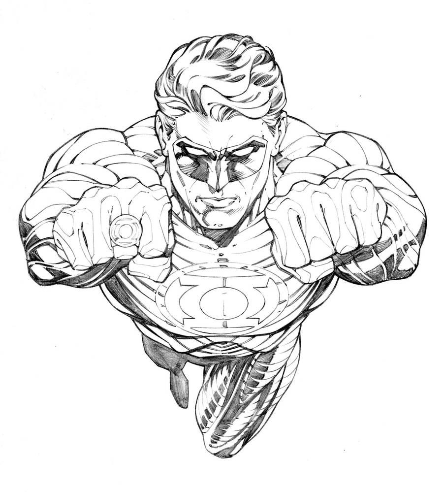 Green Lantern-HJ by RandyGreen