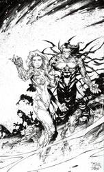 Witchblade Darkness by RandyGreen