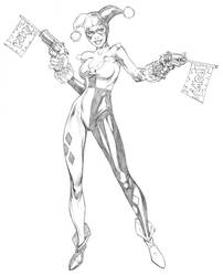 Harley Quinn DC Comics by RandyGreen