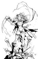 Princess of Death by RandyGreen