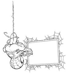 Spidey playing Spiderman by RandyGreen