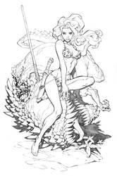 Shanna the She-Devil by RandyGreen