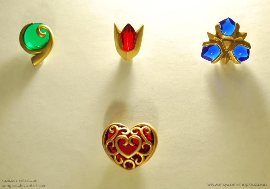 New Zelda Charms by tomgiest