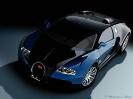 Bugatti Veyron Vector by LostPr0ph3t