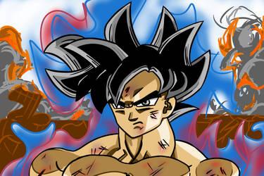Ultra Instinct Goku Omen by vSHN
