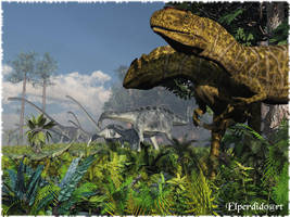 Yangchuanosaurus by Elperdido1965