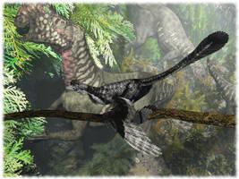 Microraptor by Elperdido1965