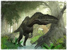 Acrocanthosaurus atokensis by Elperdido1965