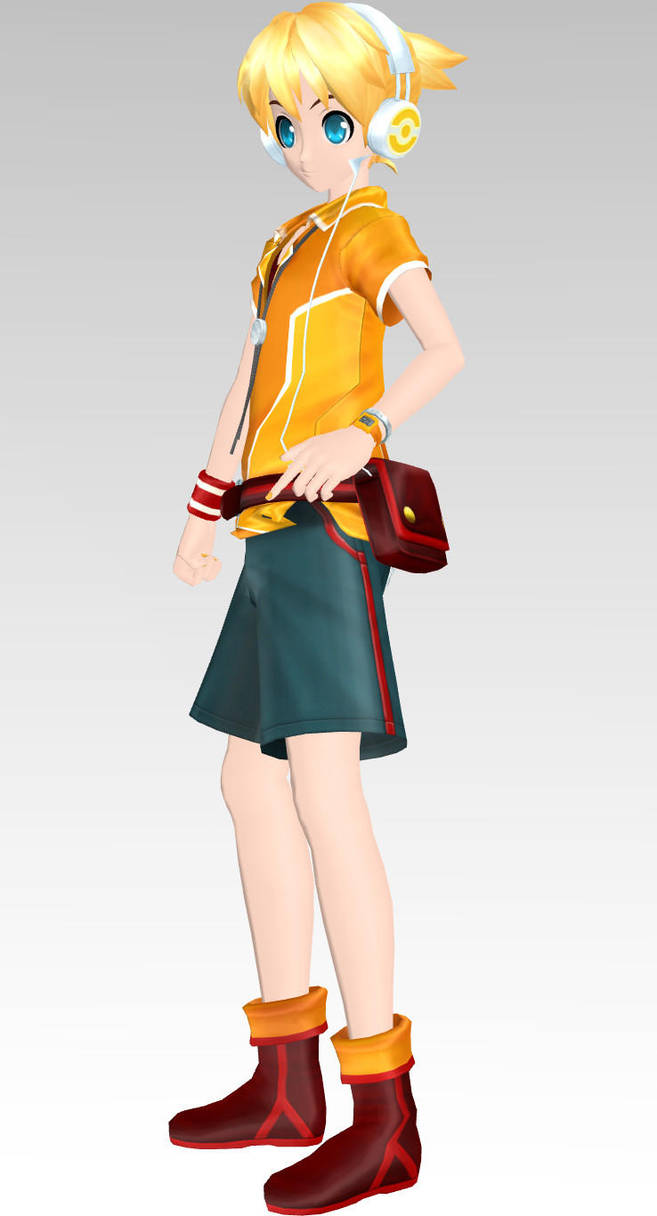 MMD 03 Rin style miku + Links by LenMJPU on DeviantArt
