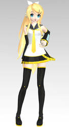 MMD PDAFT Future Style Rin Dl by Rin-Chan-Now