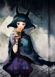 Sealed Oni by asuka111