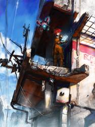 Visit the ruin city by asuka111