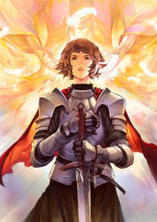 Jeanne d'Arc by asuka111
