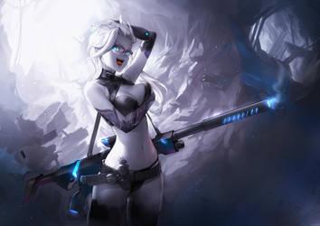 Sniper Girl by asuka111