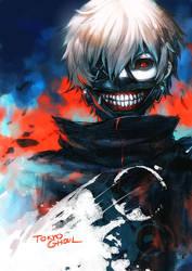 Tokyo Ghoul Fan art by asuka111