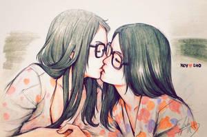 Kiss by asuka111