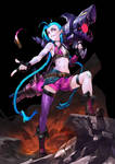 Jinx - league of legends by asuka111
