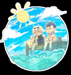 [AWAFL] Sea salt Ice cream by cosmicguts
