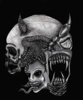 Faces of Evil by Skandinav666