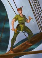 Peter Pan by ArtCrawl