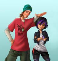 Gogo and Fred by ArtCrawl