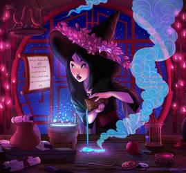 Witchsona: Mulan by ArtCrawl