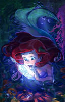 Secret Santa: Ariel by ArtCrawl