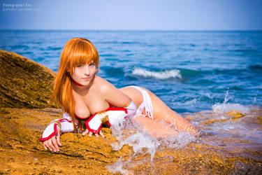 Dead or Alive Kasumi cosplay by grellkaLoli