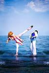 Dead or Alive Kasumi cosplay 2 by grellkaLoli
